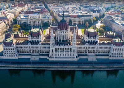 Légifotó - Parlament épülete
