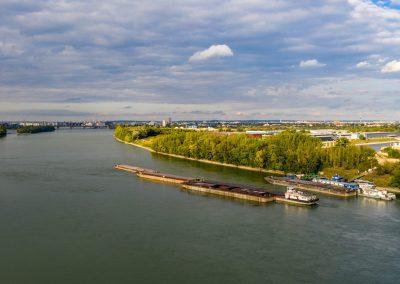 Duna légifotó