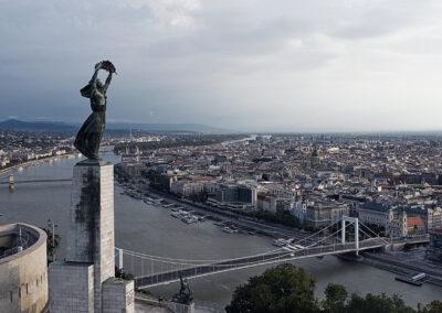 Gellert-hegy - Budapest látkép